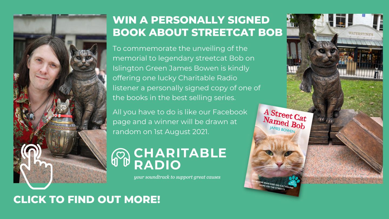 "WIN a signed copy of ""Street Cat Named Bob"""
