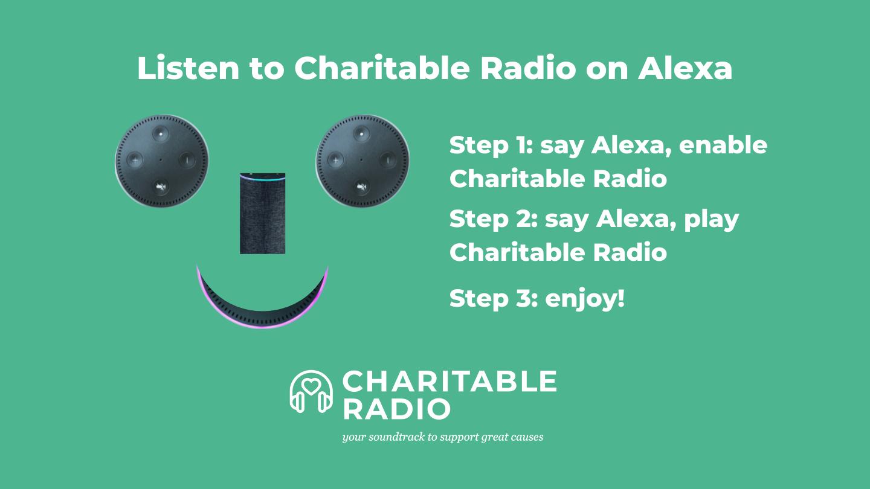 Charitable Radio on Alexa