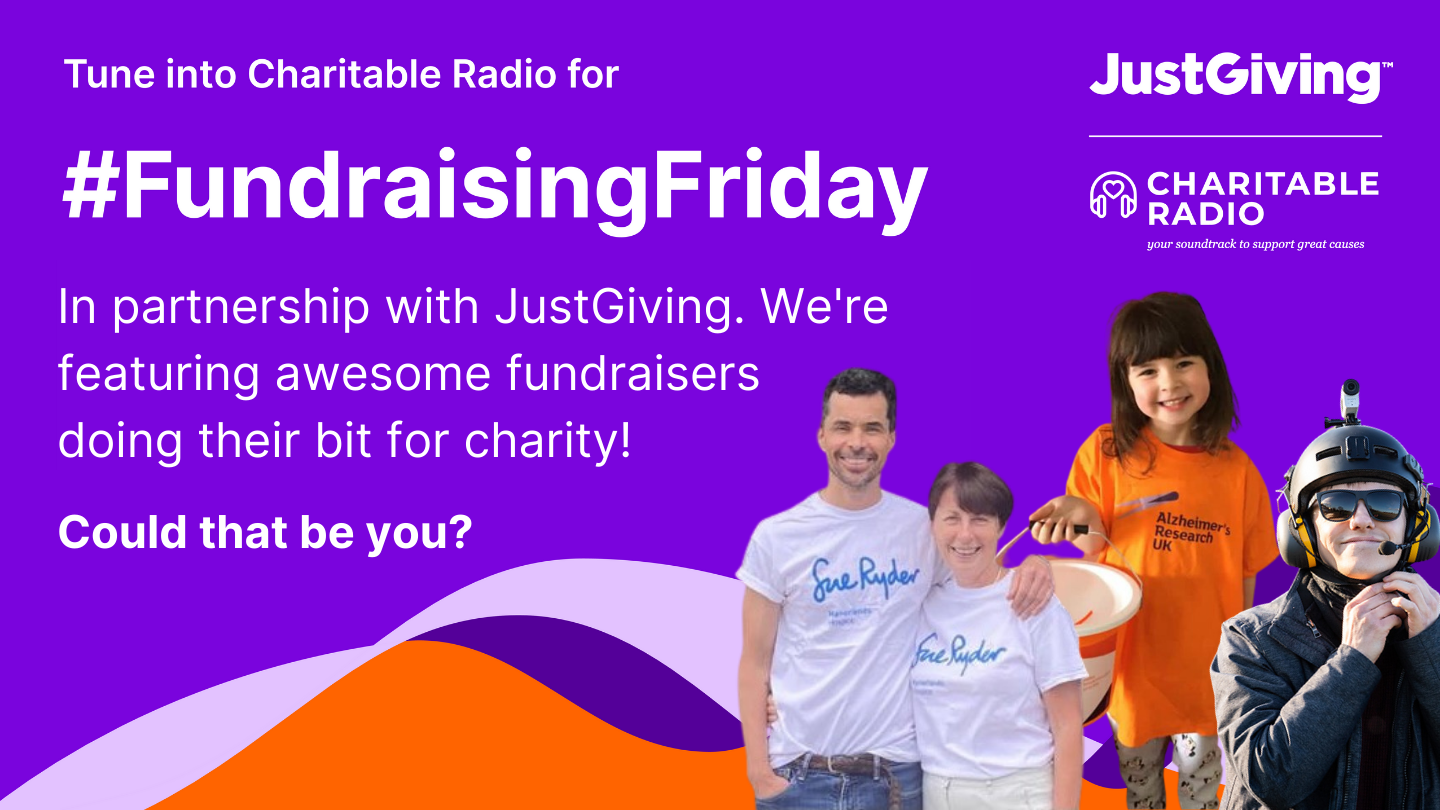 Fundraising Friday with JustGiving